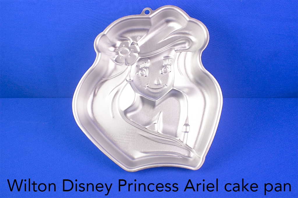 Wilton Disney Princess Ariel cake pan.