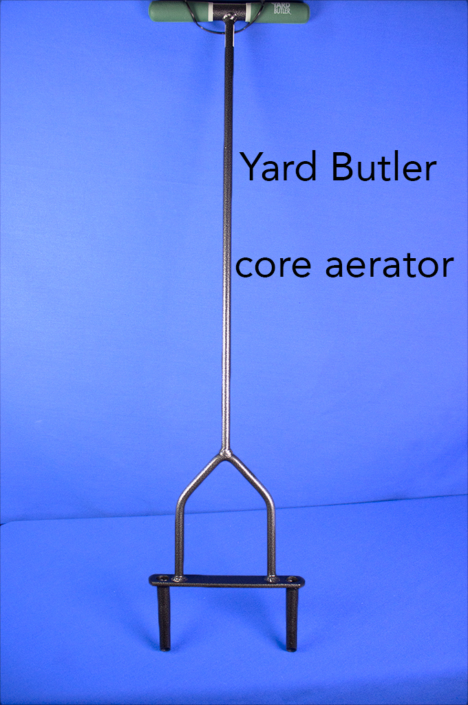 Yard Butler core aerator.