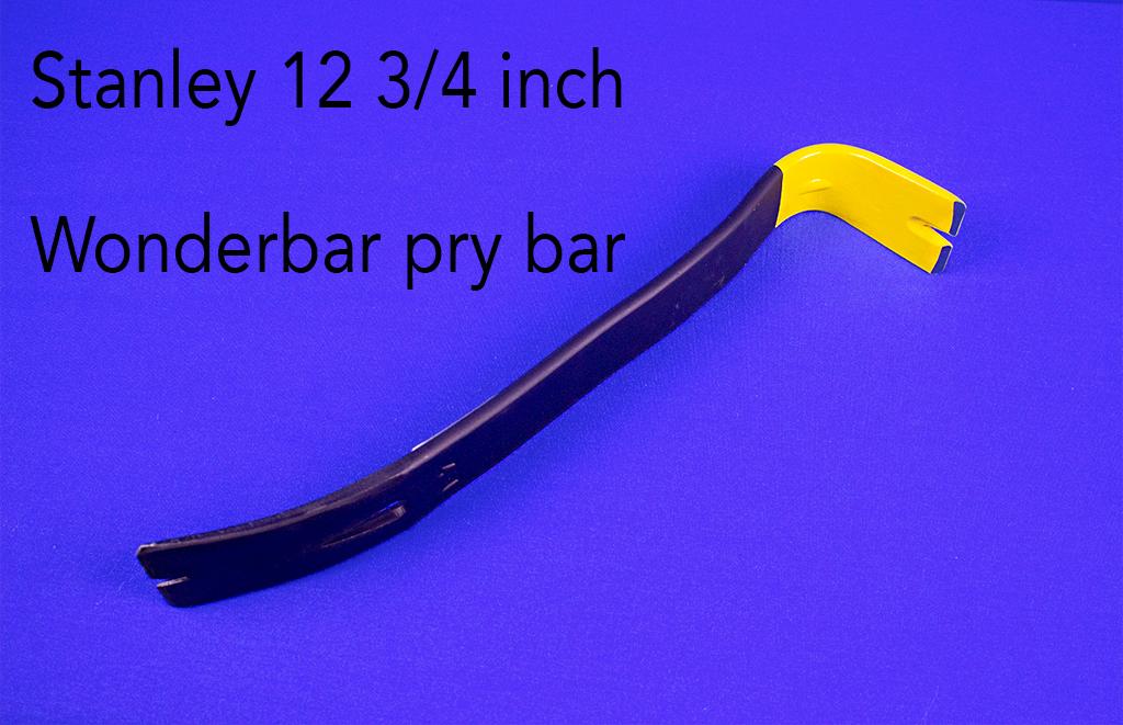 Stanley 12 3/4 inch Wonderbar pry bar