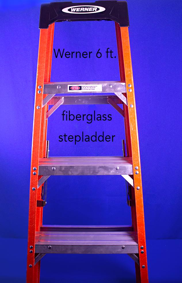 Werner 6 ft. fiberglass stepladder