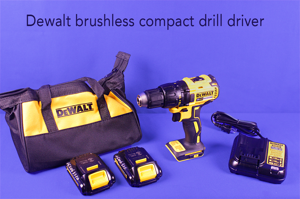 Dewalt brushless compact drill driver.