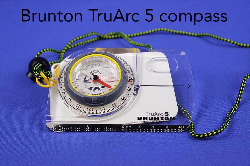 Brunton TruArc 5 compass.