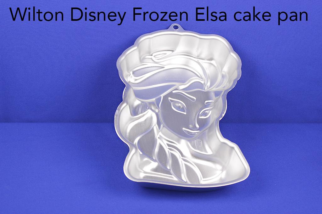 Wilton Disney Frozen Elsa cake pan.