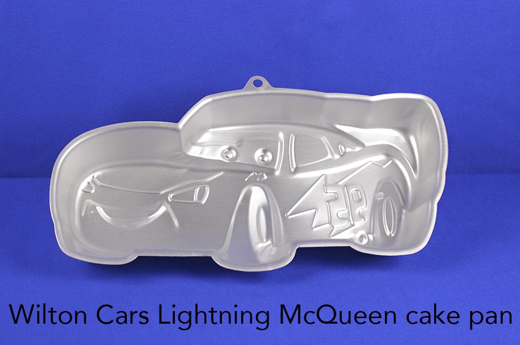 Wilton Cars Lightning McQueen cake pan.