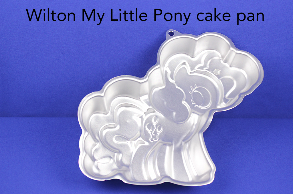 Wilton My Little Pony cake pan.