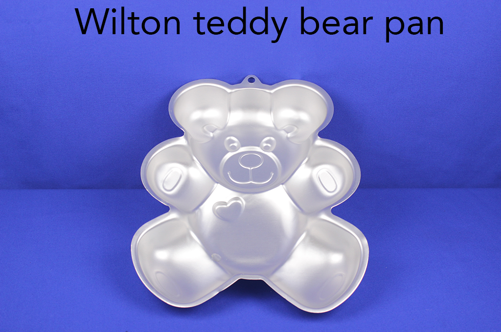 Wilton teddy bear pan.