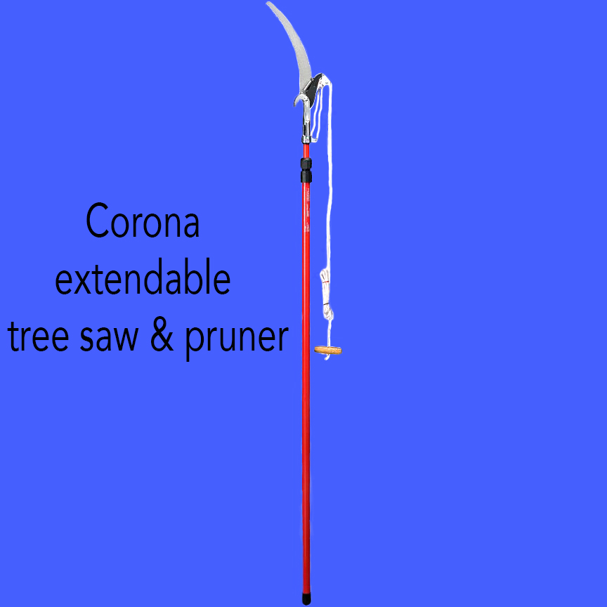 Corona extendable tree saw & pruner.