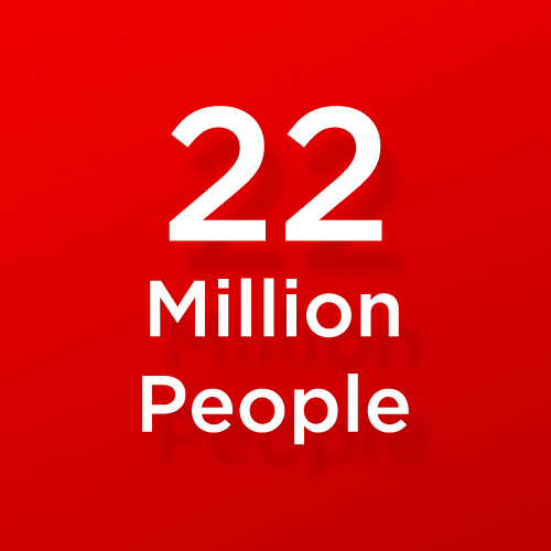 22-million-people
