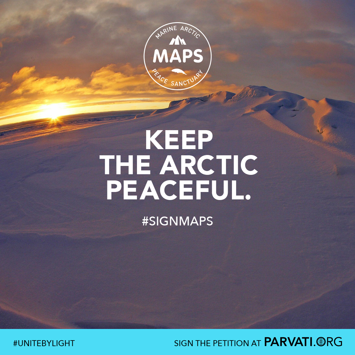 MAPS: The Marine Arctic Peace Sanctuary, the world's largest peace park.