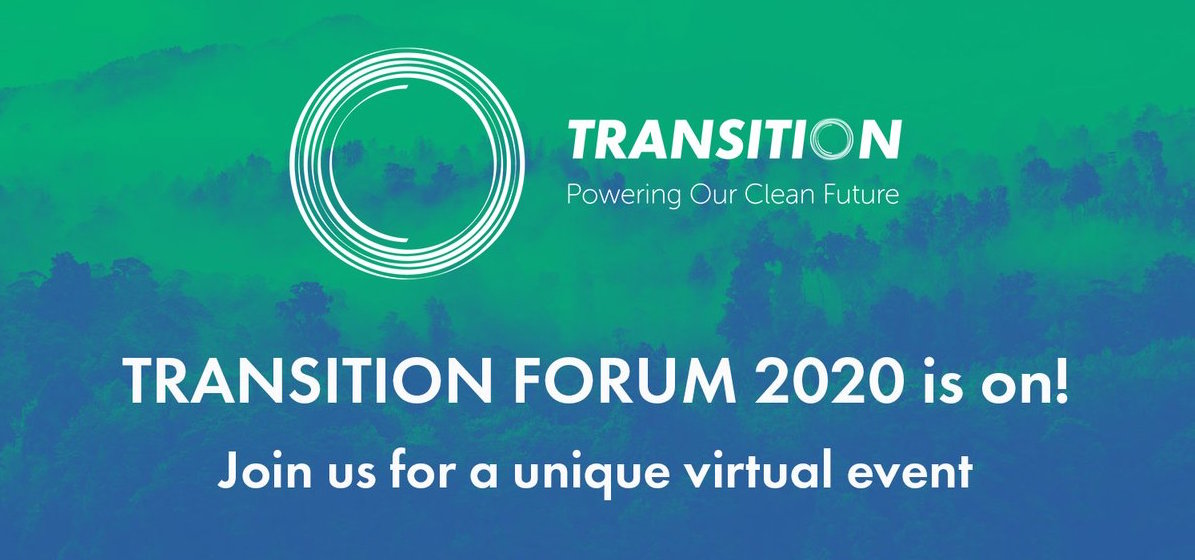 Join us for the 3rd Annual Transition Forum - online addition!