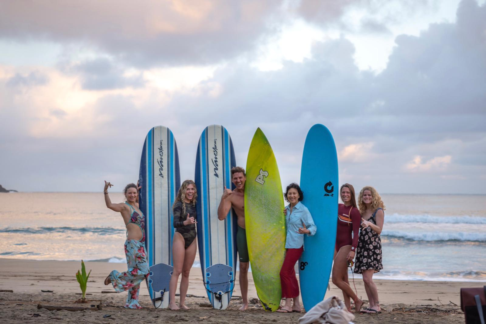 Surf's Up! But Who First?