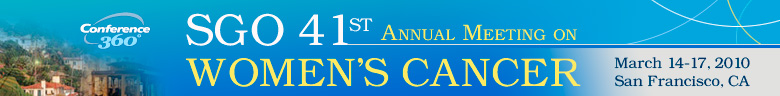 The Society of Gynecologic Oncologists 41st Annual Meeting o