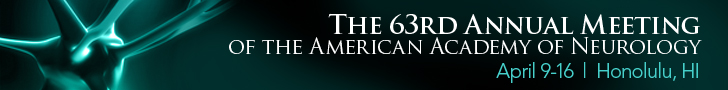 The 63rd Annual Meeting of the American Academy of Neurology