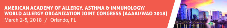 2018 American Academy of Allergy, Asthma & Immunology/ World Allergy Organization Joint Congress