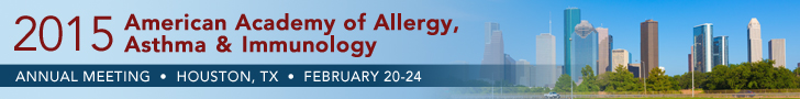 2015 American Academy of Allergy, Asthma & Immunology Annual