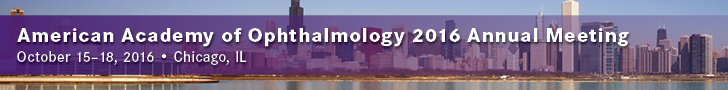 American Academy of Ophthalmology 2016 Annual Meeting