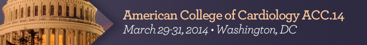 2014 American College of Cardiology Annual Scientific Session