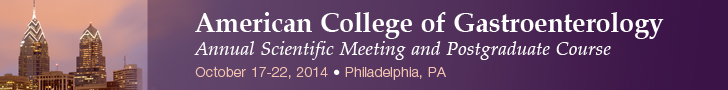 American College of Gastroenterology 2014 Annual Scientific