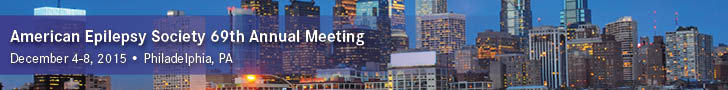 American Epilepsy Society 69th Annual Meeting