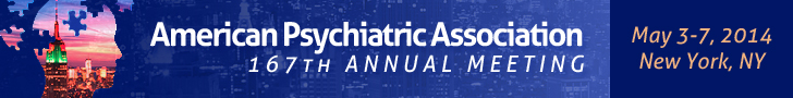 Annual Meeting of the American Psychiatric Association 2014