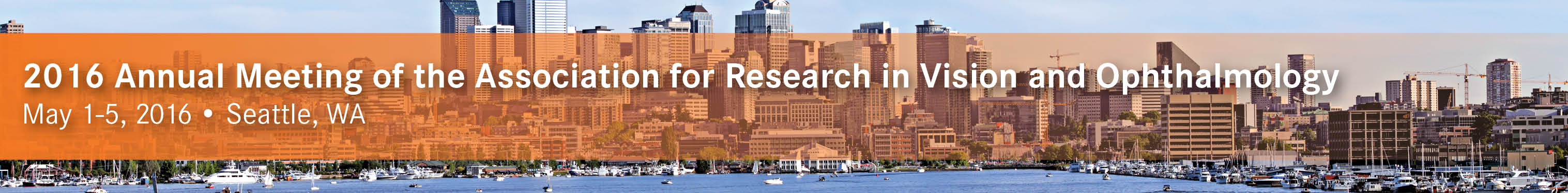 2016 Annual Meeting of the Association for Research in Vision and Ophthalmology