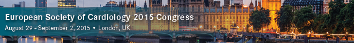 European Society of Cardiology 2015 Congress
