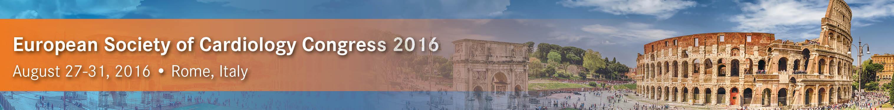 European Society of Cardiology Congress 2016