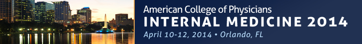 American College of Physicians Internal Medicine 2014