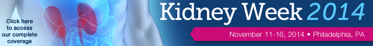 American Society of Nephrology Kidney Week 2014
