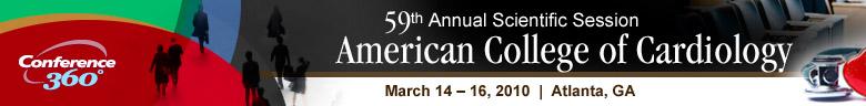 59th Annual Scientific Session of the American College of Ca