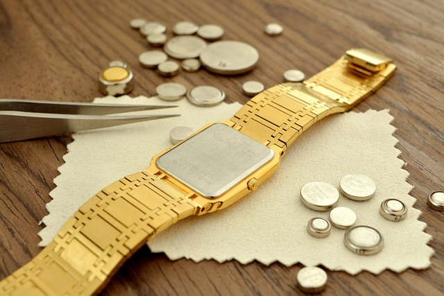Button batteries for wrist watch
