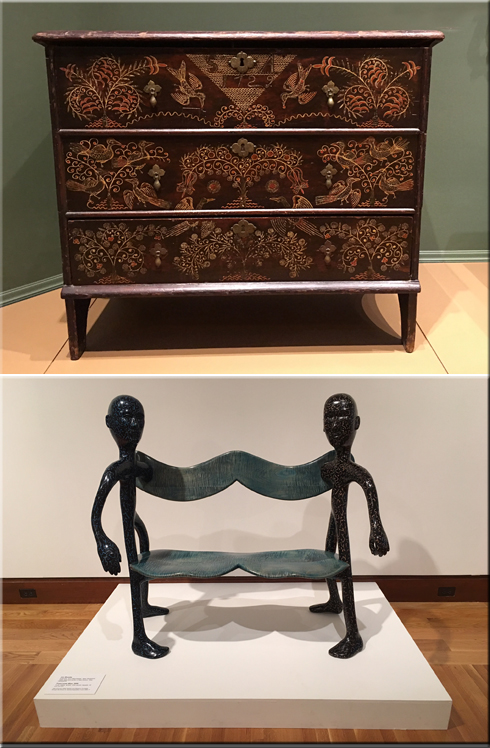 It Would Not Be A Surprise To Find A New England Art Museum Featuring  Furniture: A Painted Chest From 1729 By Robert Crossman Contrasting With A  Modern ...