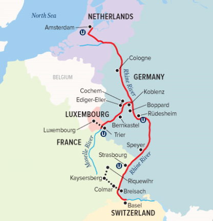 Sailing The River Rhine Part 2 Crossing Time And Borders In Alsace