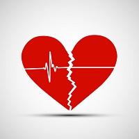 Heart attack graphic