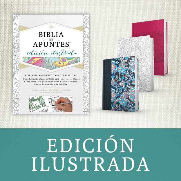 biblia de apuntes ilustrada, escribir, dibujar, pintar