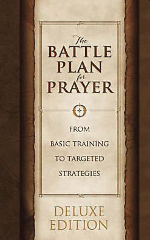 This LeatherTouch edition of best-selling The Battle Plan for Prayer is a beautiful gift.