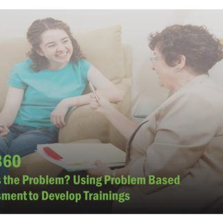 ET 360 Course Image contains two women sitting on a couch speaking to each other.