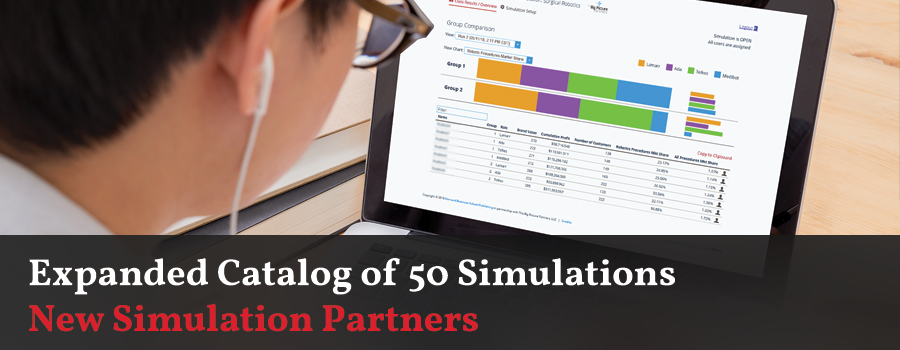 Expanded Catalog of 50 Simulations - New Simulation Partners