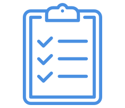 Symbolic image depicting a checklist