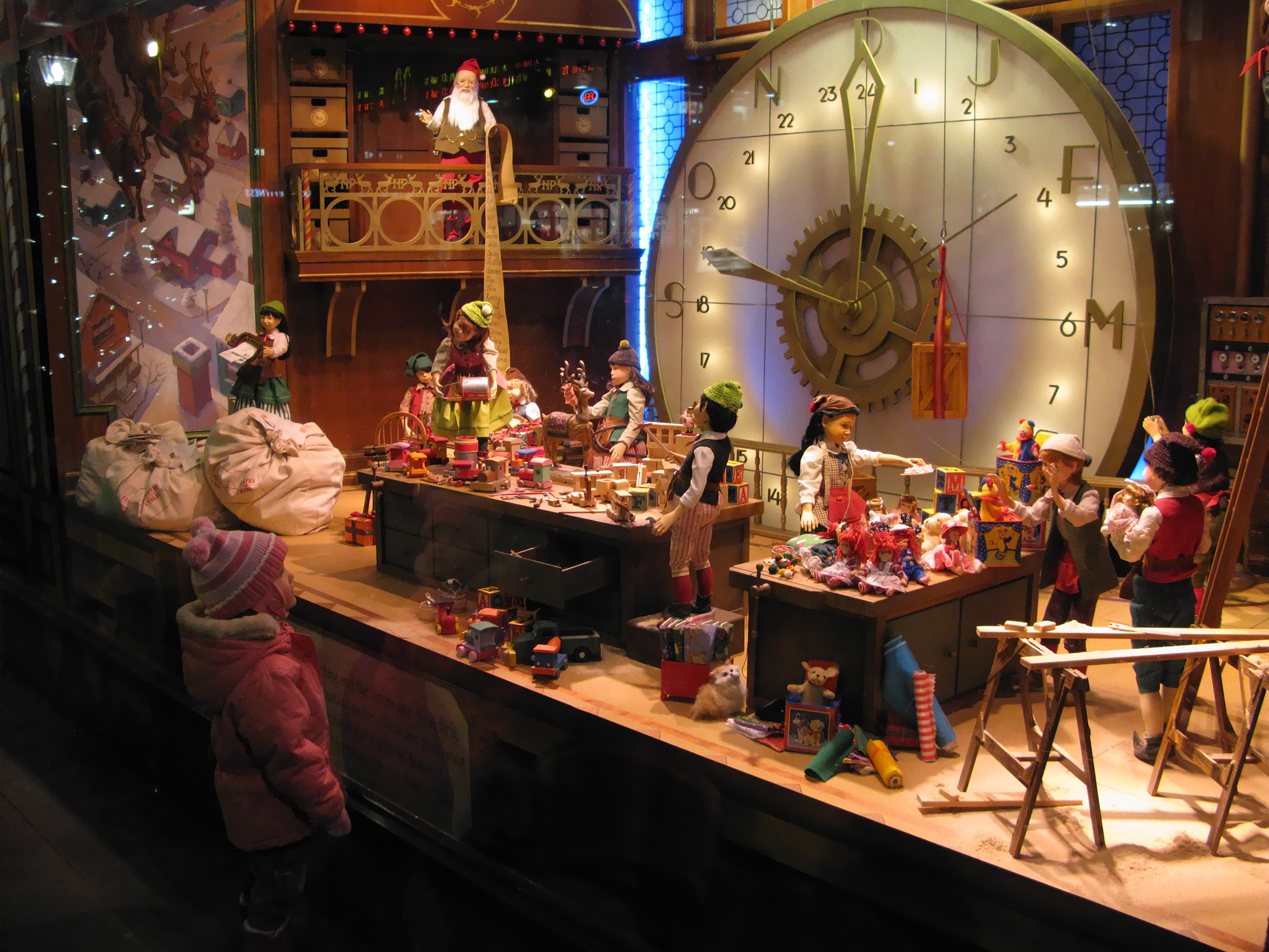 Paris in December - Christmas Window Displays