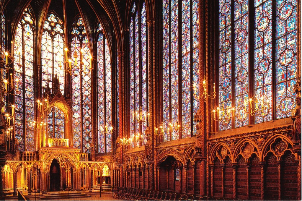 paris in April - Sainte Chapelle Christmas Concerts