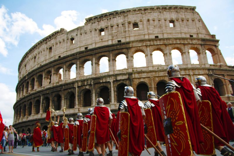 Rome in april events