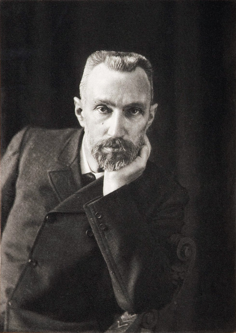 A picture of Pierre Curie taken by Dujardin in 1906, Marie Curie's husband, Nobel Prize winner - HeadStuff.org