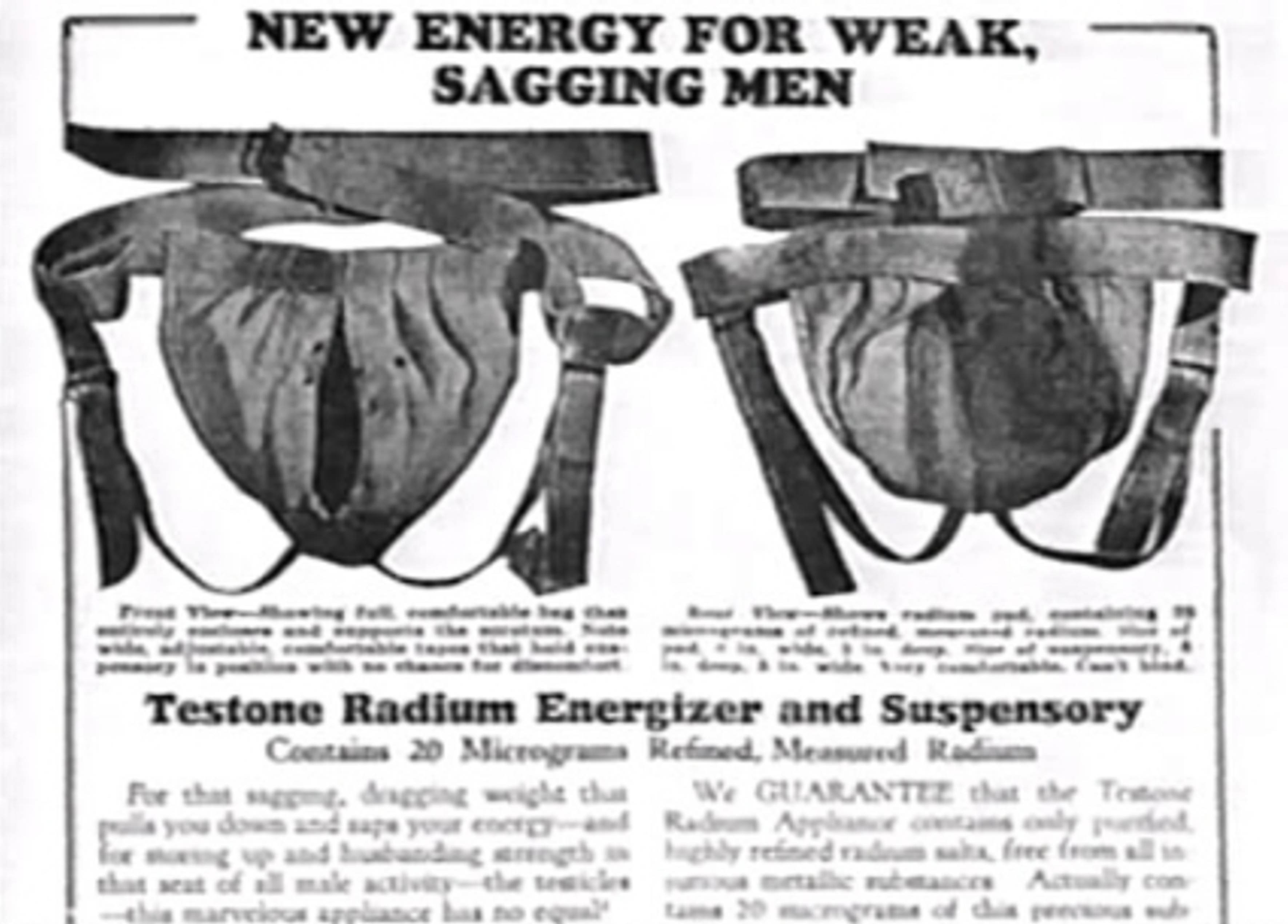 Radium Testicle Support, Marie Curie, Radioactive, radium - HeadStuff.org
