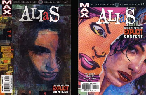 Alias, Brian Michael Bendis, Jessica Jones, Marvel comics, Netflix, tv series, - HeadStuff.org