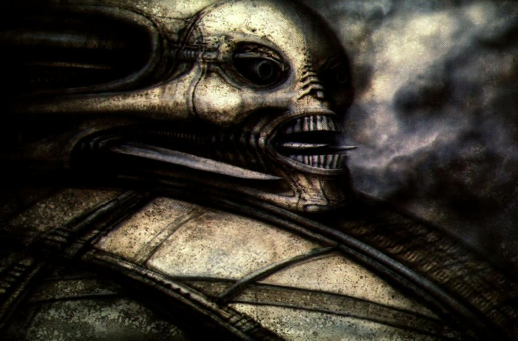 The Influence of H.R. Giger - HeadStuff H.r. Giger Queen Alien