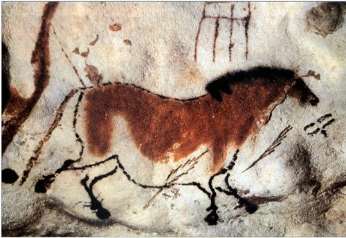 Caveman Art : The origin of world's art: prehistoric cave painting headstuff