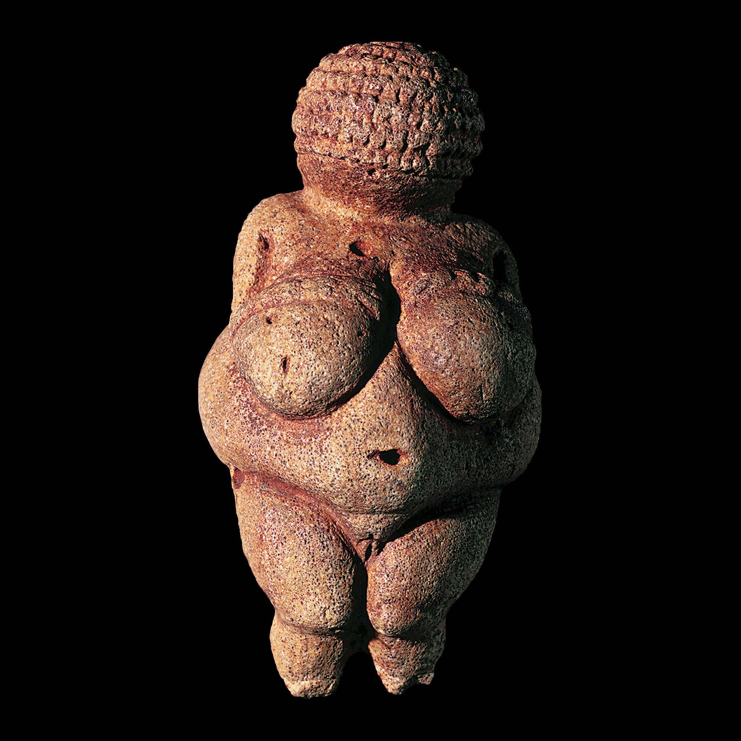 Venus of Willendorf, picture of statue, prehistoric art sculpture, Cave painting, history, prehistoric, france, spain, caves, ancient, animal, sacrifice, religion, primitive, les trois-freres, lascaux - HeadStuff.org