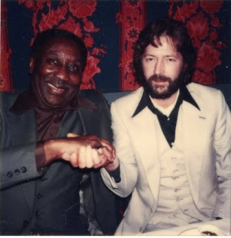 Eric Clapton and Muddy Waters, Eric Clapton, Cream, Muddy Waters, blues legend, guitar legend, two legends together - HeadStuff.org