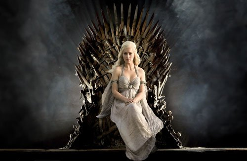 Game of Thrones, GOT, blonde girl, tits, boobs, sexy blonde from GOT, throne, Game of Thrones by someone who had never seen it, description of game of thrones - HeadStuff.org